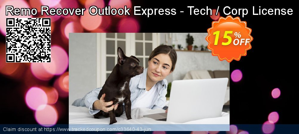Remo Recover Outlook Express - Tech / Corp License coupon on Halloween offering discount
