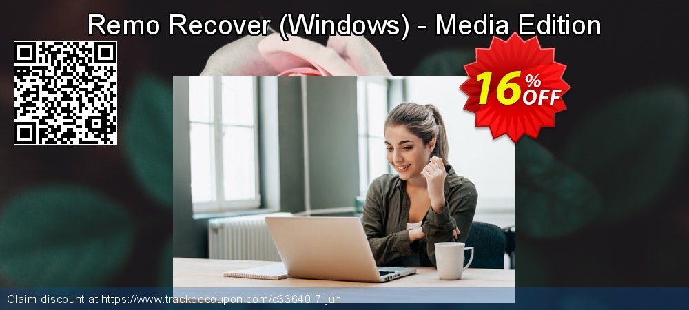 Get 15% OFF Remo Recover (Windows) - Media Edition sales
