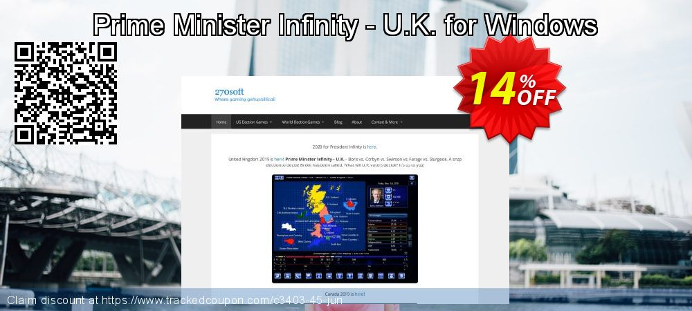 Get 10% OFF Prime Minister Infinity - U.K. for Windows offer