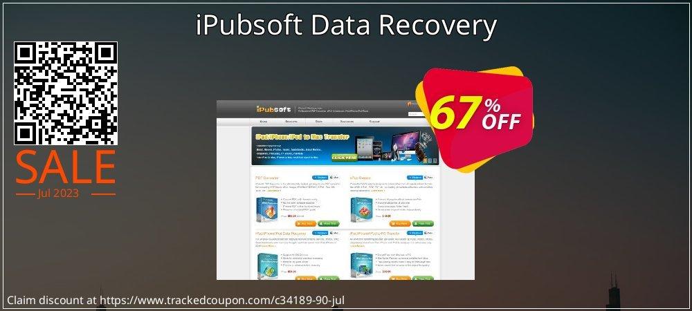 Get 65% OFF iPubsoft Data Recovery offer