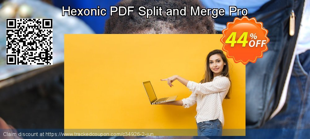 Get 40% OFF Hexonic PDF Split and Merge Pro offering deals