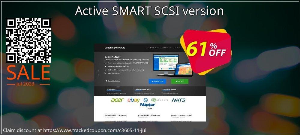 Active SMART SCSI version coupon on Lunar New Year super sale