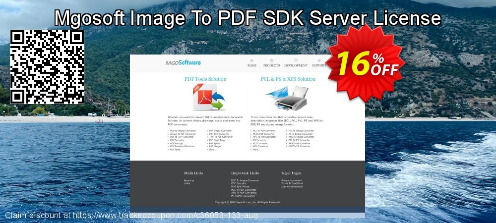 Get 15% OFF Mgosoft Image To PDF SDK Server License offering sales