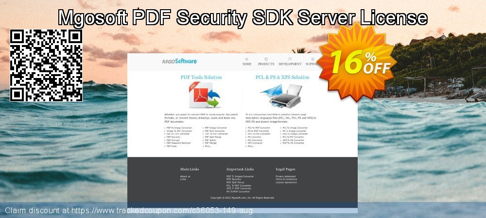 Get 15% OFF Mgosoft PDF Security SDK Server License offering sales