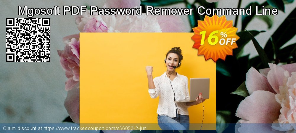 Get 15% OFF Mgosoft PDF Password Remover Command Line offering sales