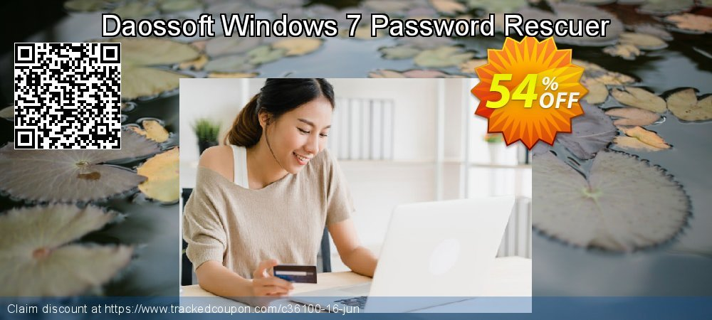 Daossoft Windows 7 Password Rescuer coupon on Mom Day offer