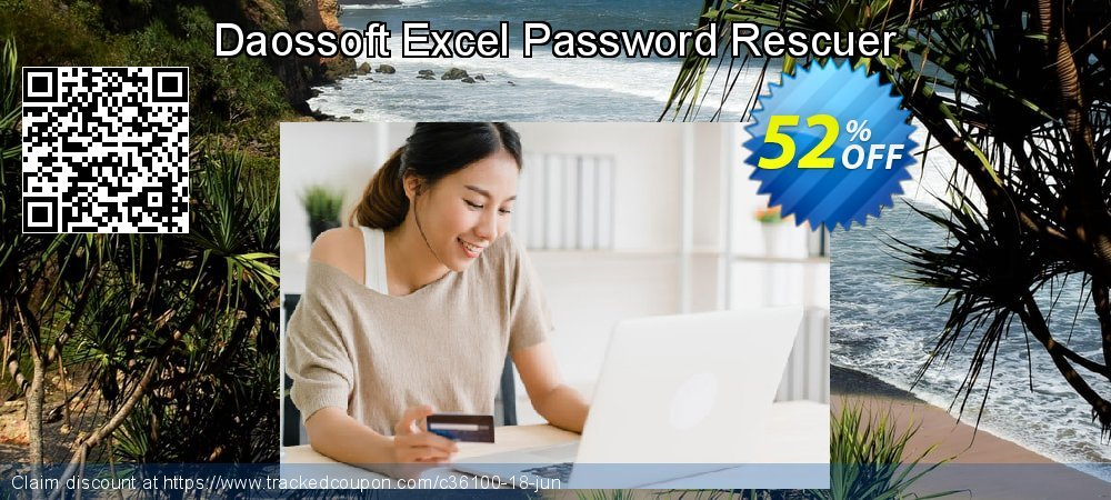 Daossoft Excel Password Rescuer coupon on Summer offering sales