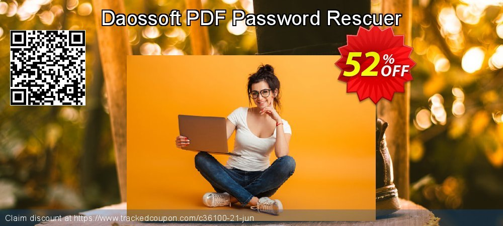 Claim 50% OFF Daossoft PDF Password Rescuer Coupon discount July, 2019