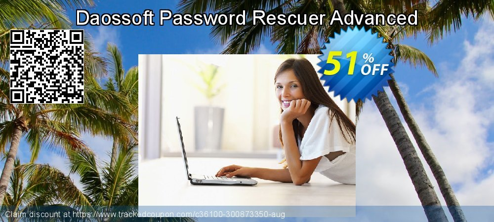 Claim 51% OFF Daossoft Password Rescuer Advanced Coupon discount September, 2019
