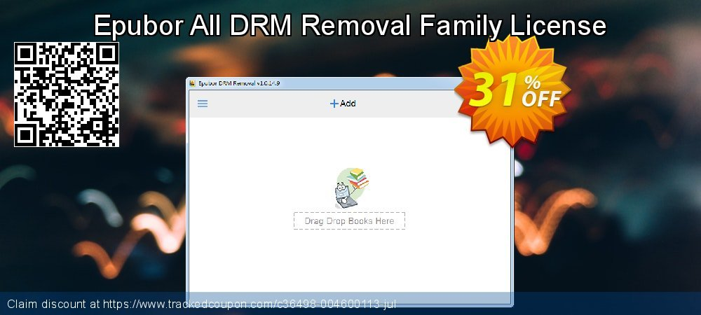 Epubor All DRM Removal Family License coupon on Int'l. Women's Day deals