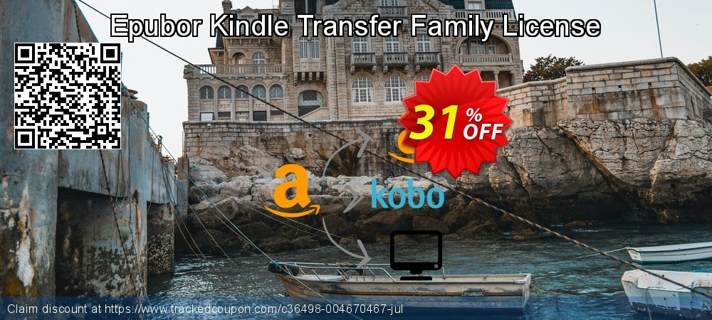 Epubor Kindle Transfer Family License coupon on Back to School coupons discounts
