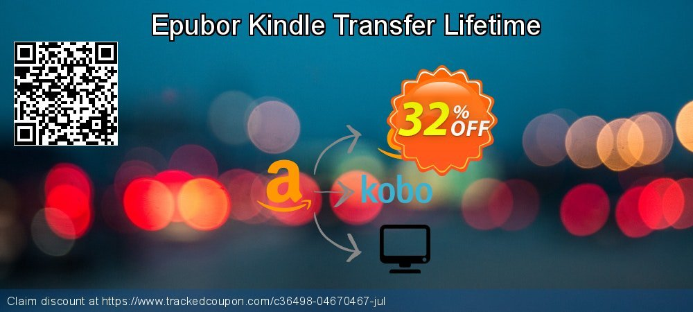 Epubor Kindle Transfer Lifetime coupon on Teacher deals discounts