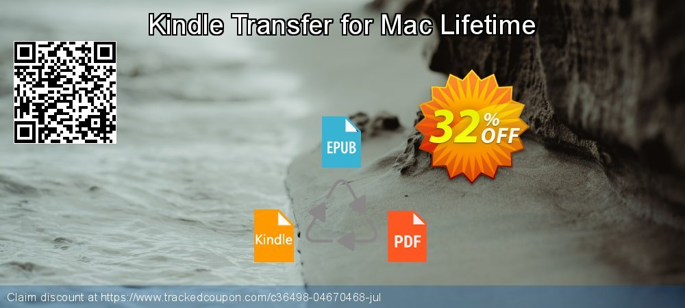 Kindle Transfer for Mac Lifetime coupon on College Student deals promotions