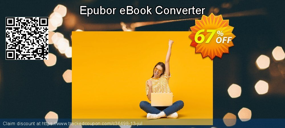 Get 65% OFF Epubor eBook Converter offering sales