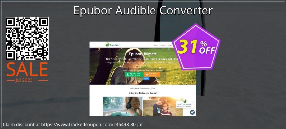 Get 30% OFF Epubor Audible Converter offering sales