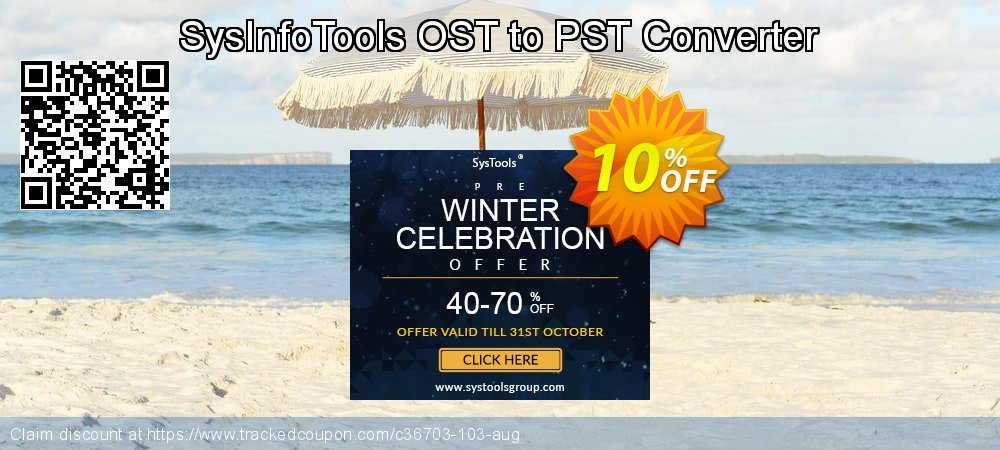 SysInfoTools OST to PST Converter coupon on Super bowl sales