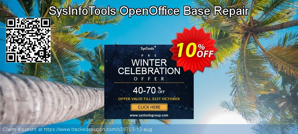 SysInfoTools OpenOffice Base Repair coupon on  Lover's Day promotions