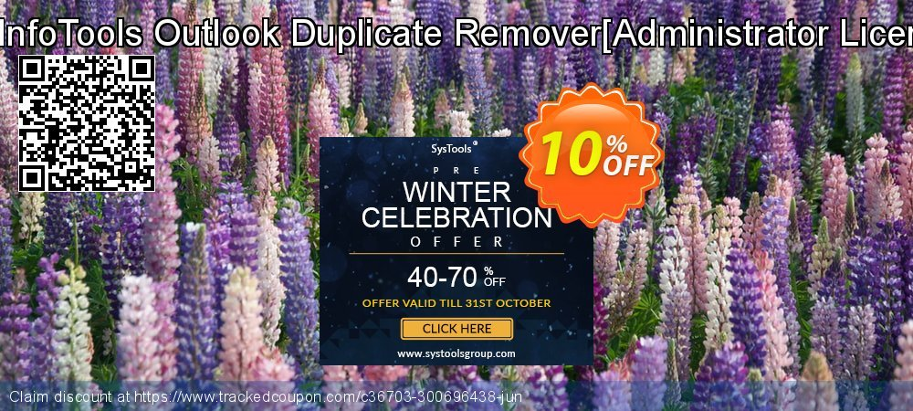 Get 10% OFF SysInfoTools Outlook Duplicate Remover[Administrator License] sales