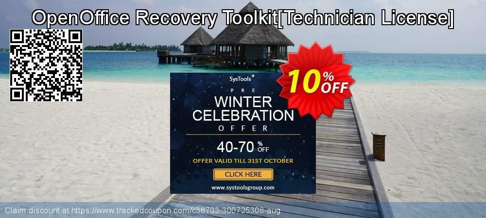 OpenOffice Recovery Toolkit[Technician License] coupon on New Year deals