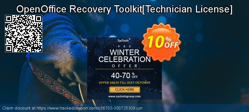 OpenOffice Recovery Toolkit[Technician License] coupon on Thanksgiving offer