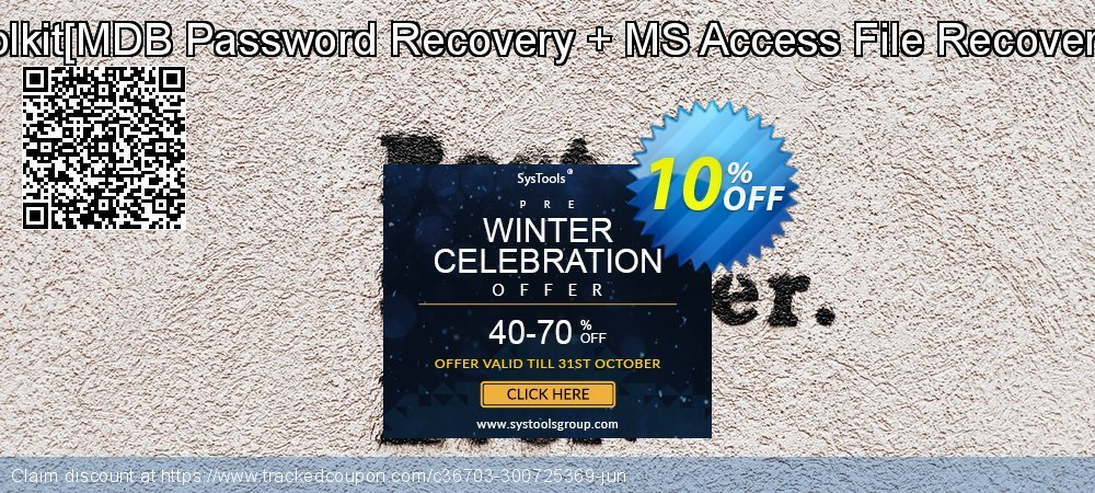 Password Recovery Toolkit[MDB Password Recovery + MS Access File Recovery]Administrator License coupon on Back-to-School event discounts