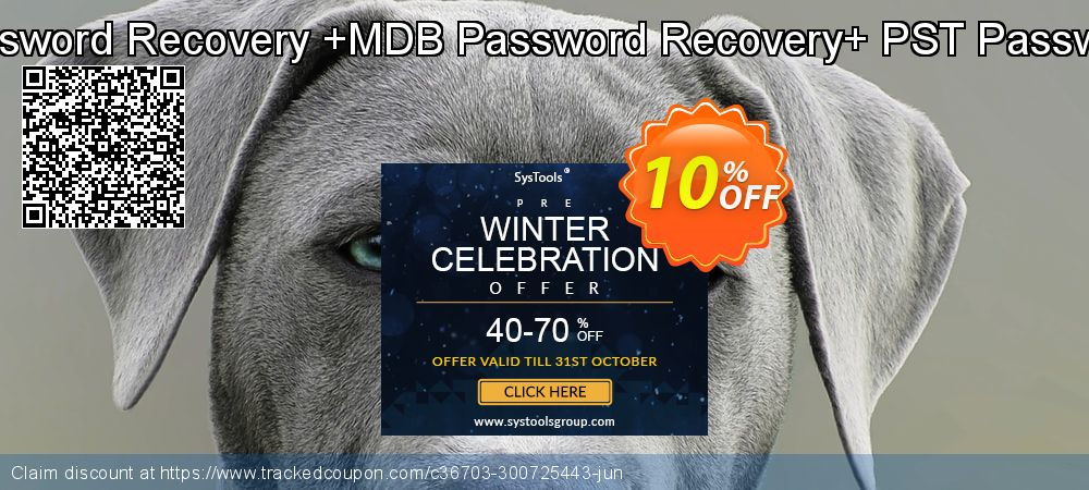 Password Recovery Toolkit[VBA Password Recovery +MDB Password Recovery+ PST Password Recovery]Administrator License coupon on Lunar New Year deals
