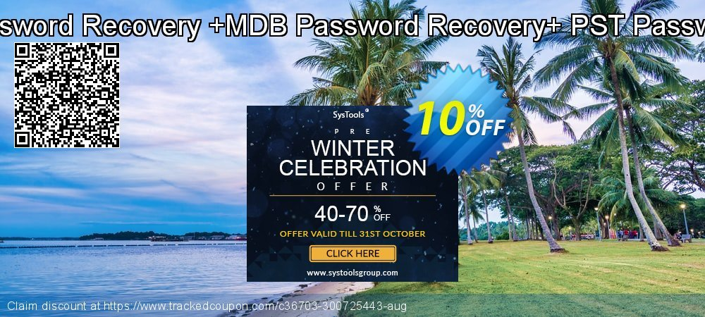Password Recovery Toolkit[VBA Password Recovery +MDB Password Recovery+ PST Password Recovery]Administrator License coupon on Back to School coupons promotions