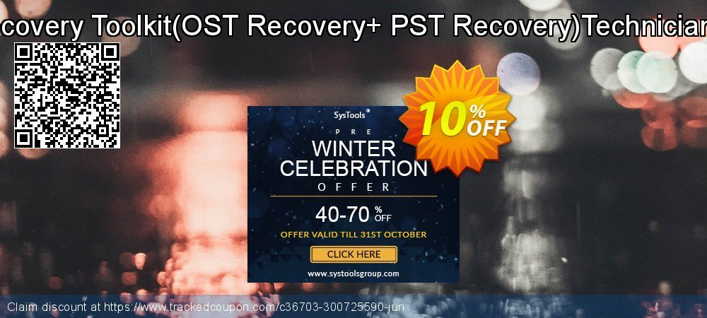 Email Recovery Toolkit - OST Recovery+ PST Recovery Technician License coupon on Back-to-School event discount