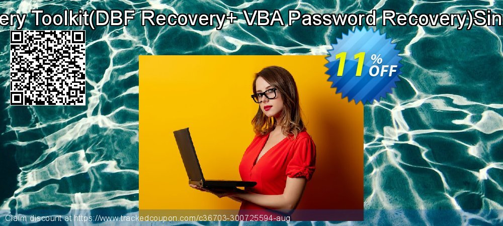 Database Recovery Toolkit - DBF Recovery+ VBA Password Recovery Single User License coupon on Back to School offer discounts