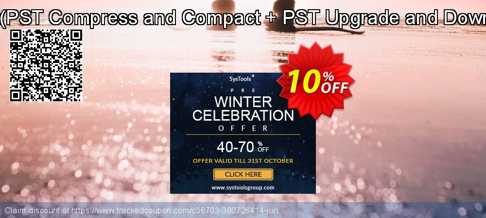 Email Management Toolkit - PST Compress and Compact + PST Upgrade and Downgrade Technician License coupon on Halloween sales