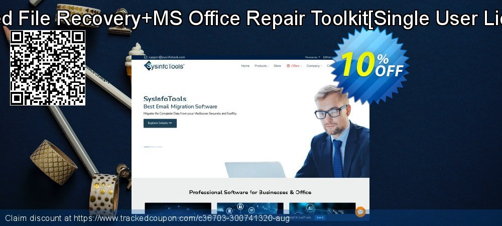Deleted File Recovery+MS Office Repair Toolkit[Single User License] coupon on Halloween offer