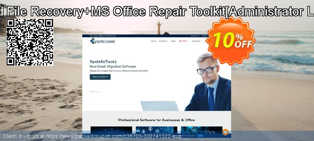 Deleted File Recovery+MS Office Repair Toolkit[Administrator License] coupon on Halloween offering discount