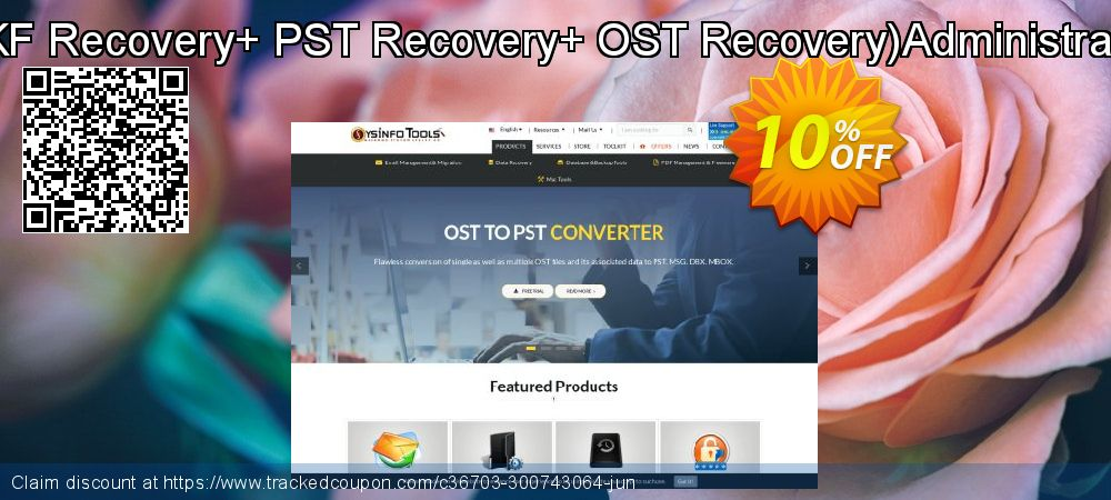 Combo - BKF Recovery+ PST Recovery+ OST Recovery Administrator License coupon on April Fool's Day promotions