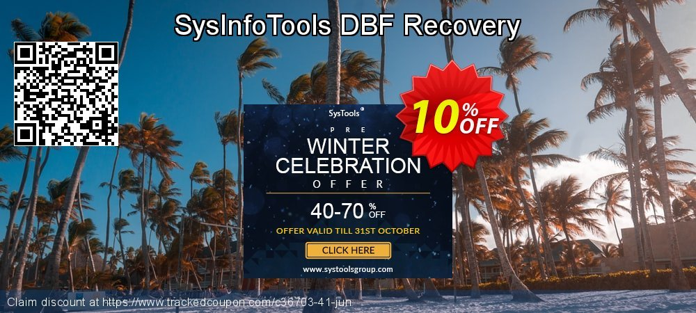 SysInfoTools DBF Recovery coupon on College Student deals offering discount