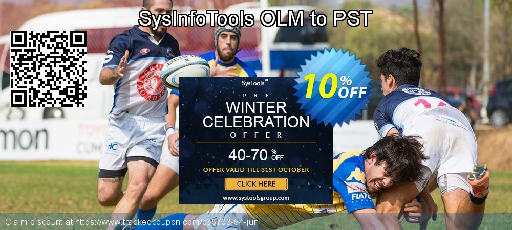 SysInfoTools OLM to PST coupon on Exclusive Teacher discount promotions