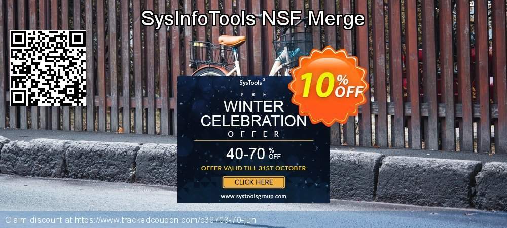 SysInfoTools NSF Merge coupon on Easter sales