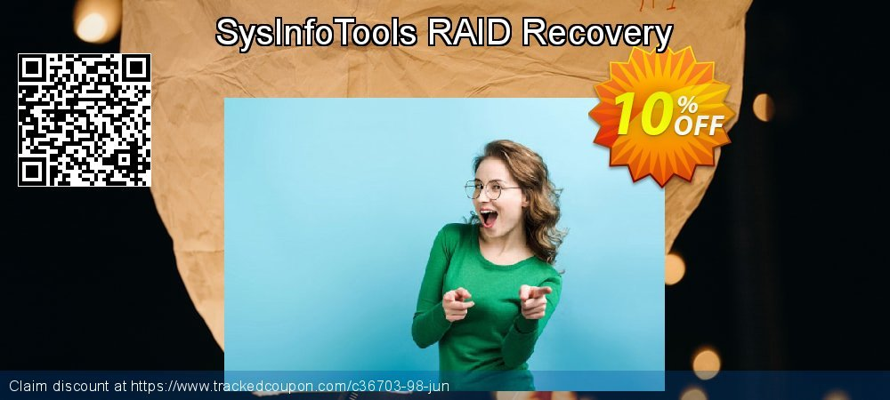 Get 10% OFF SysInfoTools RAID Recovery offer