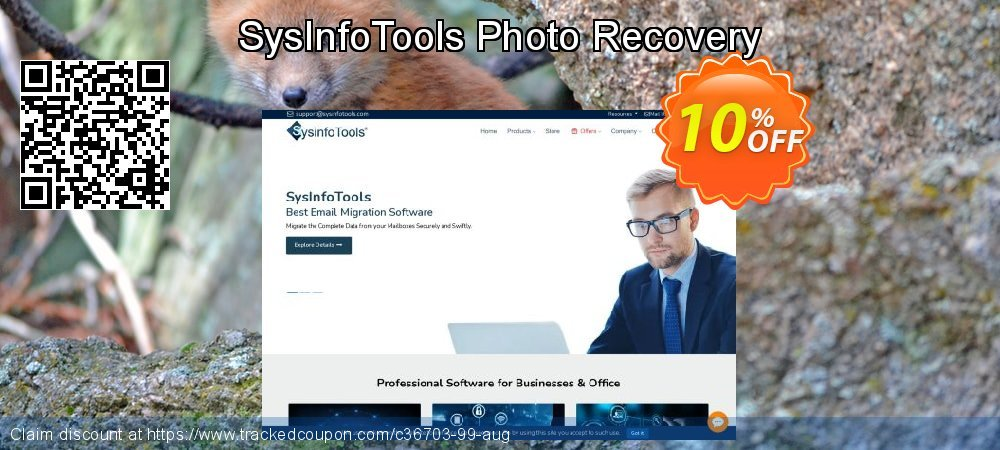 Get 10% OFF SysInfoTools Photo Recovery discount