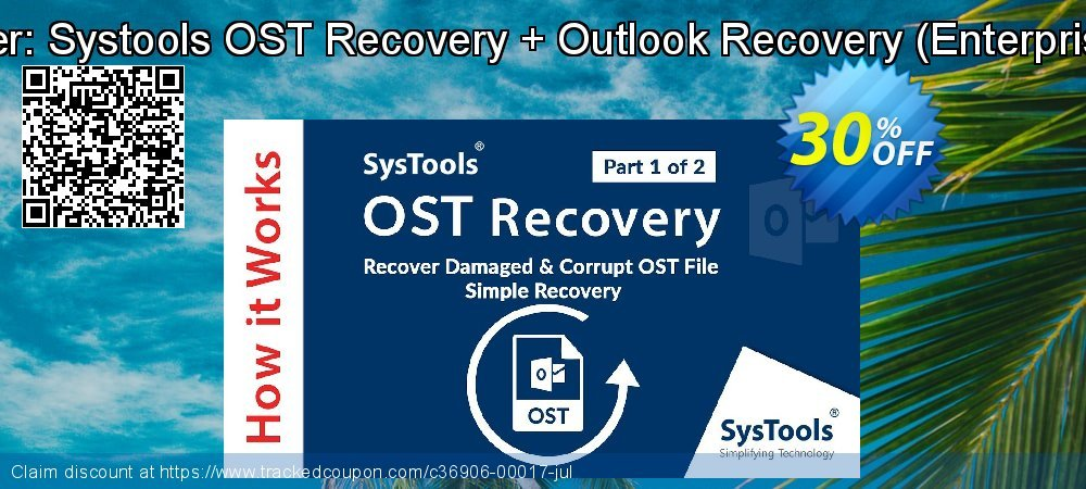 Bundle Offer: Systools OST Recovery + Outlook Recovery - Enterprise License  coupon on Black Friday offering sales