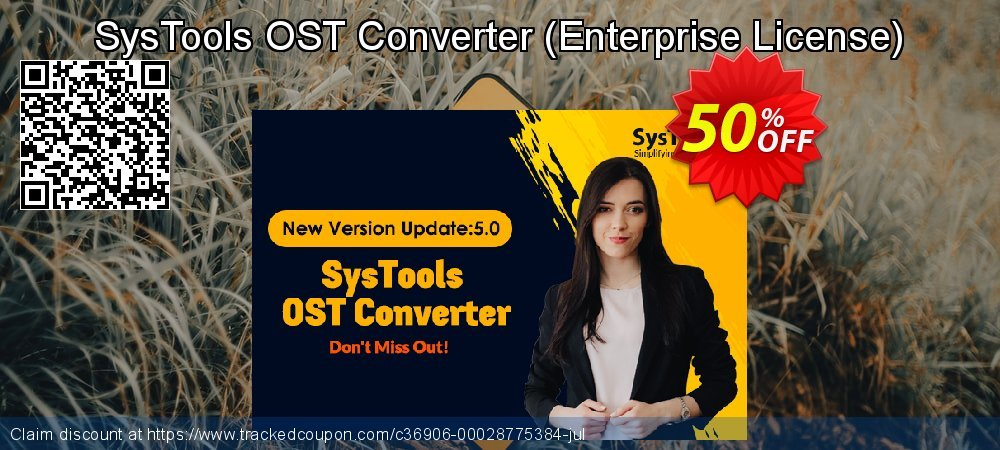 Claim 25% OFF SysTools OST Converter - Enterprise License Coupon discount November, 2020