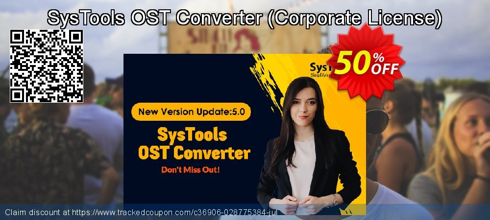 Claim 25% OFF SysTools OST Converter - Corporate License Coupon discount November, 2020