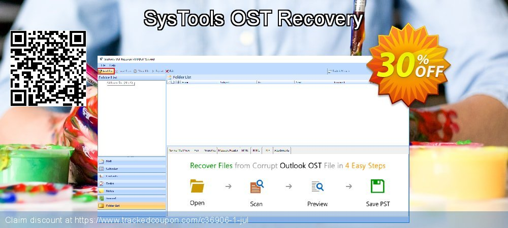 SysTools OST Recovery coupon on X'mas promotions