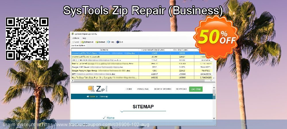 SysTools Zip Repair - Business  coupon on Easter deals