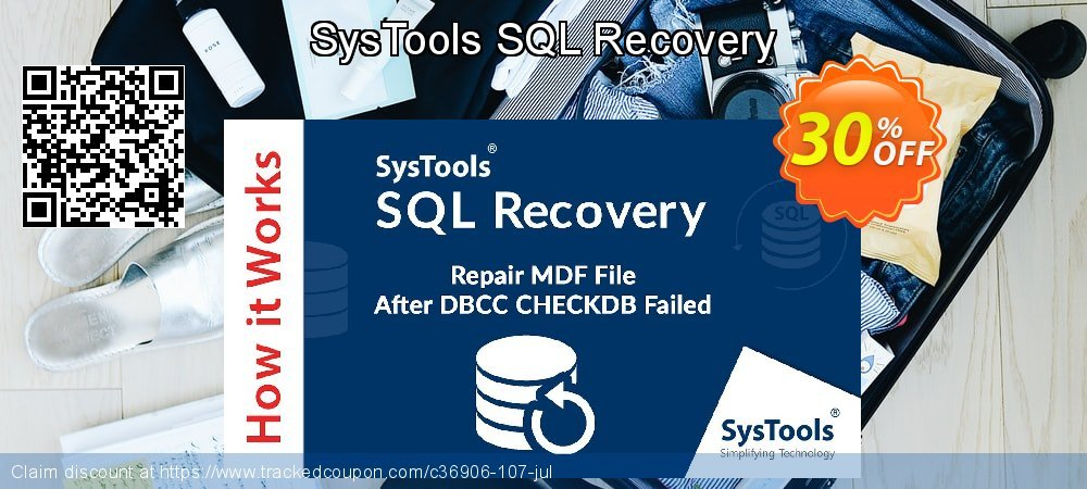SysTools SQL Recovery coupon on Tattoo Day deals