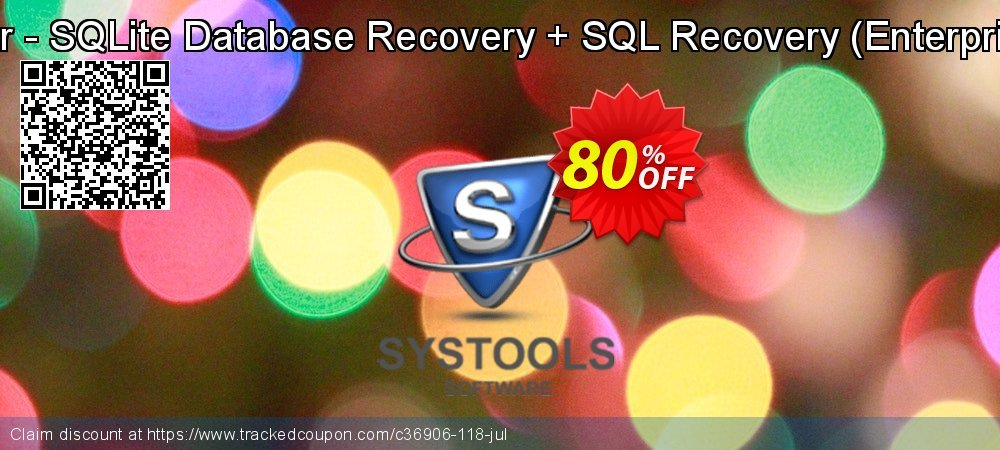 Get 30% OFF Bundle Offer - SQLite Database Recovery + SQL Recovery (Enterprise License) offering sales