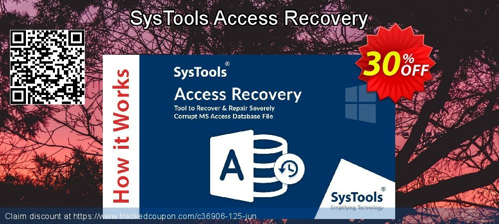 SysTools Access Recovery coupon on Summer deals