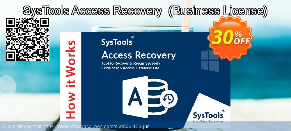 SysTools Access Recovery  - Business License  coupon on May Day discount