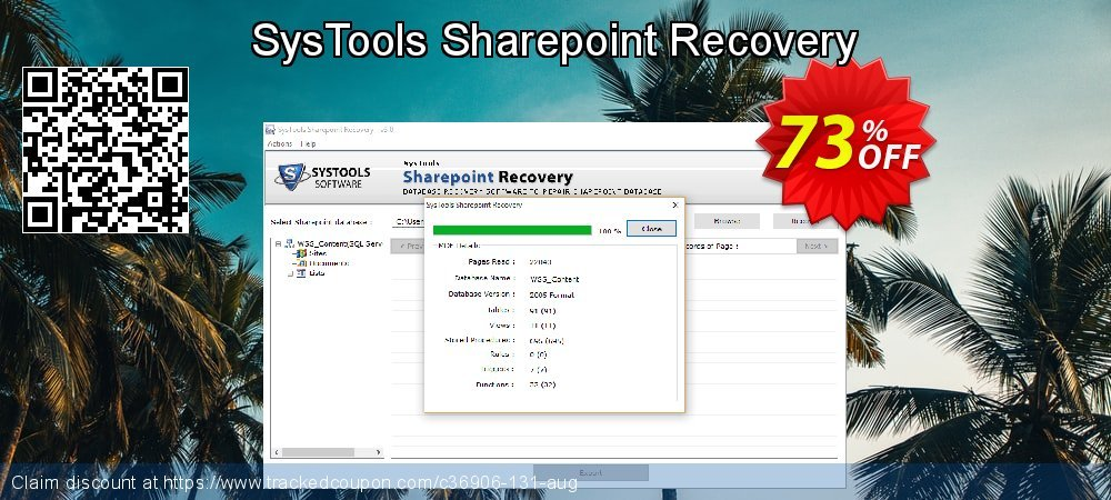 SysTools Sharepoint Recovery coupon on End of Year discount