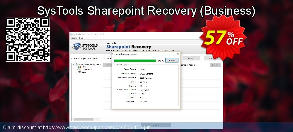 SysTools Sharepoint Recovery - Business  coupon on Int. Workers' Day discount