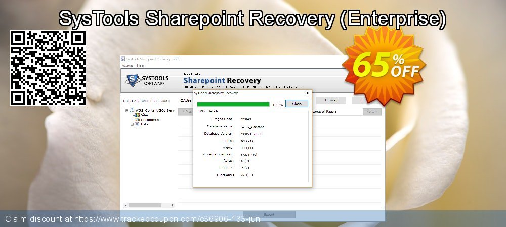 SysTools Sharepoint Recovery - Enterprise  coupon on Black Friday offering discount